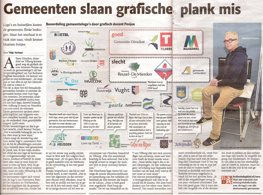 Logo Maasdriel in top 3 Brabants Dagblad
