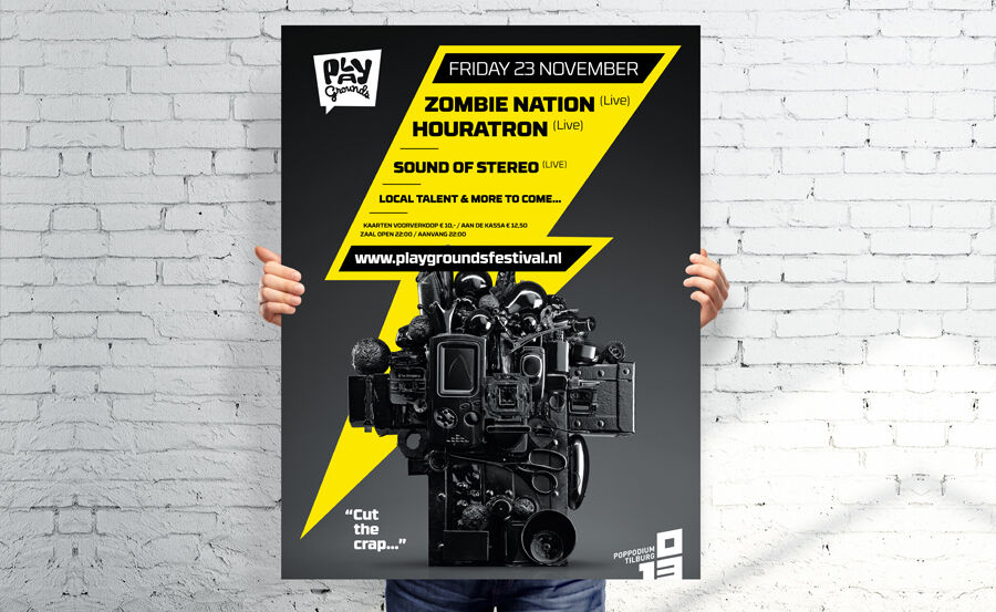 Playgrounds Festival Music Posters 2012