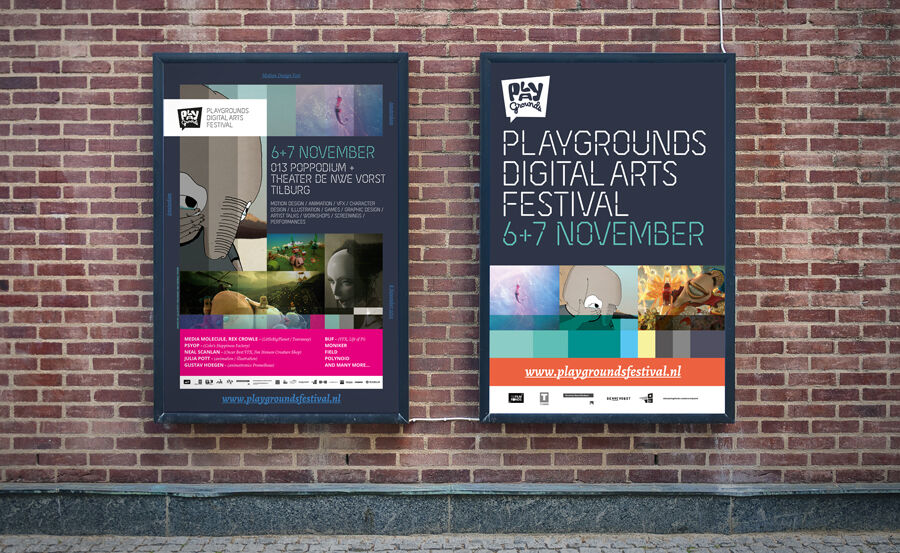 Playgrounds Festival Posters 2013